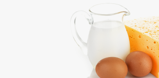 Молоко, сыр, яйца